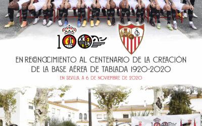 El Sevilla FC y Tablada unidos por la celebración del Centenario