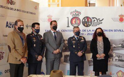 El Ayuntamiento participa en la celebración del Centenario de la Base Aérea de Tablada