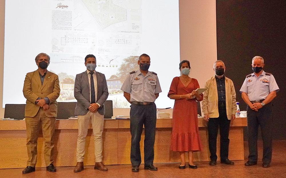 Reconocimiento a la propuesta ganadora del concurso de ideas de la Casa del Infante del Acuartelamiento de Tablada