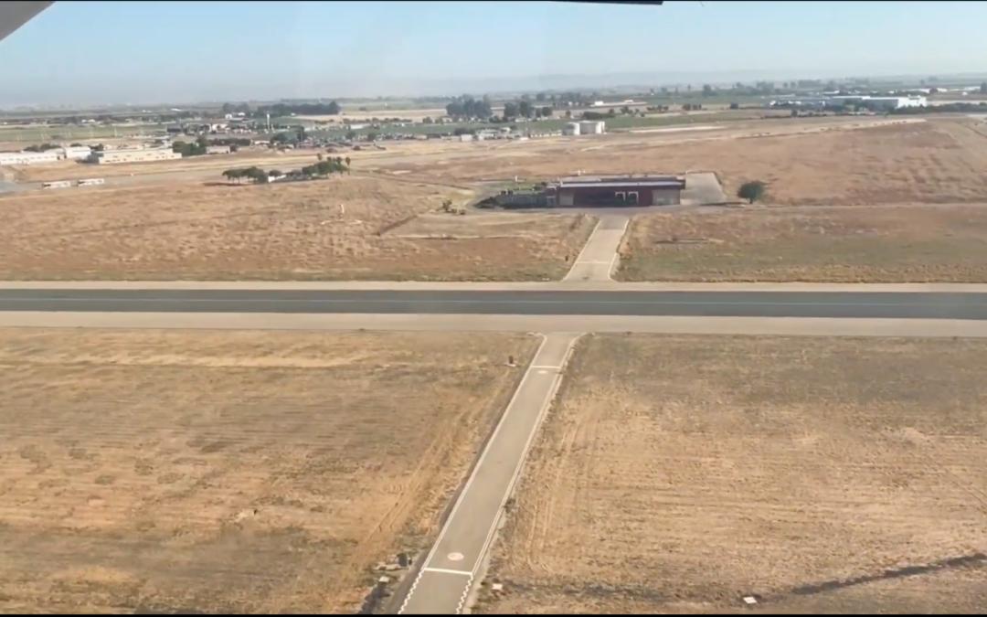 Video de reconocimiento aéreo a la 1ª etapa del raid centenario