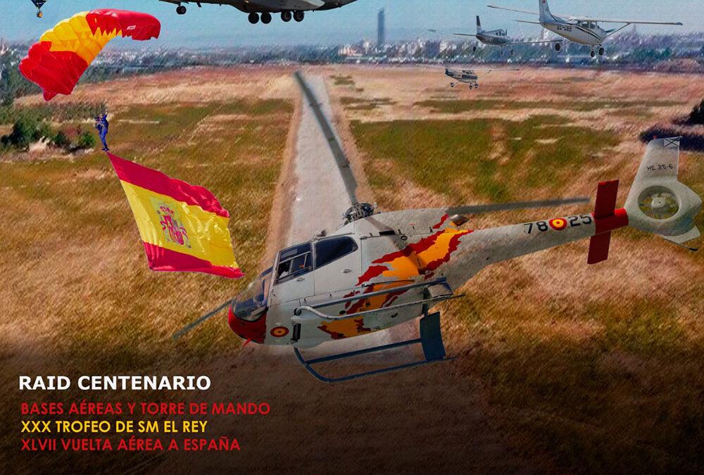 Programa de Jornada Aeronáutica y esquema general de accesos con vehículos