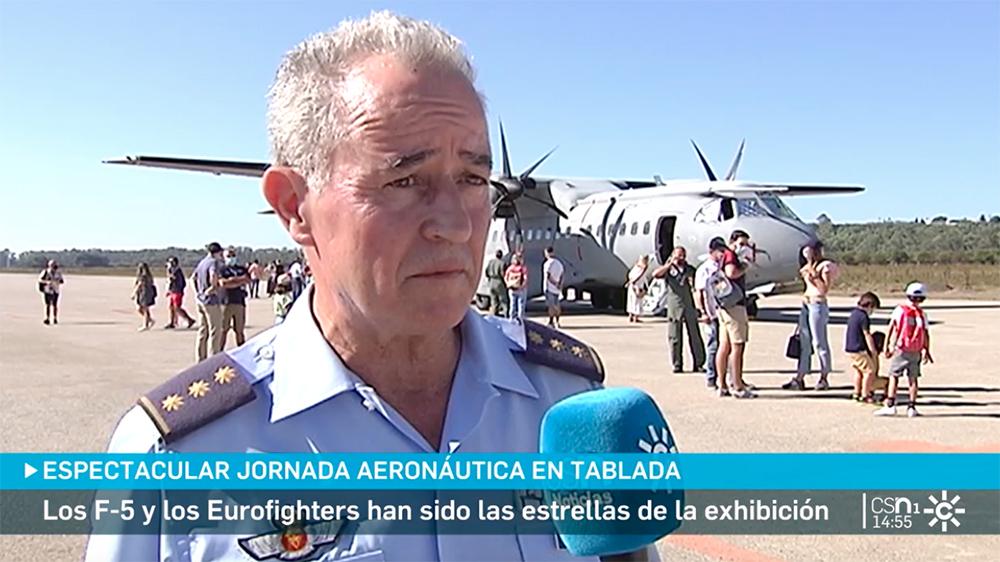 La jornada aeronáutica celebrada en Tablada en Canal Sur