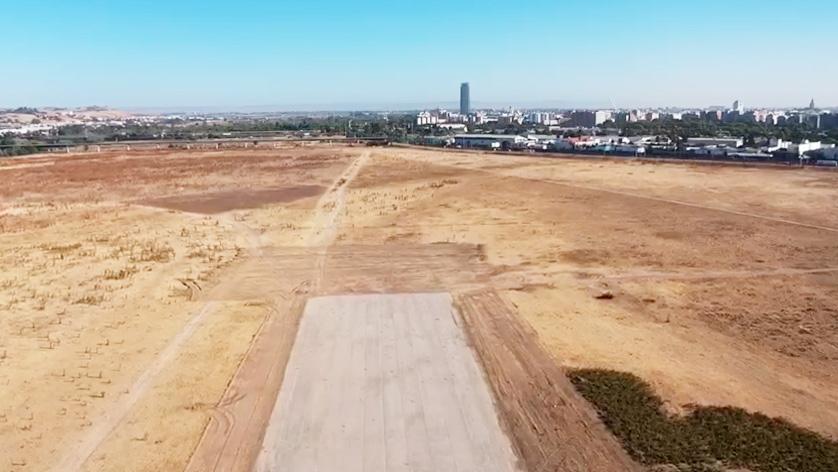 La pista de aterrizaje de la histórica Base Aérea de Tablada volverá a estar operativa durante este fin de semana